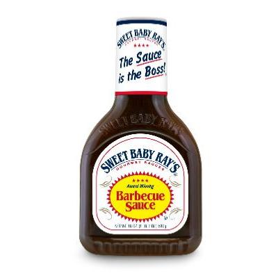 SAUCE BARBECUE ORIGINAL SWEET BABY RAY'S 510 gr VENDU PAR CARTON DE 12 UVC