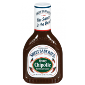 SAUCE BARBECUE HONEY CHIPOTLE SWEET BABY RAY'S 510 gr VENDU PAR CARTON DE 12 UVC